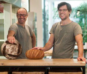 Johan en Steven - de bezielers van Broodbroeders