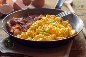 pek met eieren Puur Smaak