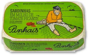 Pinhais sardines en Puur Smaak