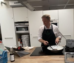 Bert kookt bij Puur Smaak